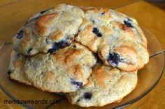 Low carb, flourless drop scones. 125 calories. 5.5g protein, 9.5g fat, 3g net carbs.