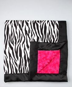 Zebra Blanket- I've always wanted one of those.