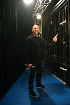 Jason Statham Photos: Celebs Drop by the 106 & Park Studio in NYC