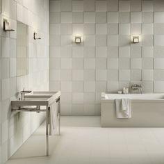 piastrelle bagno moderno grigio - Cerca con Google  casa bagno ...