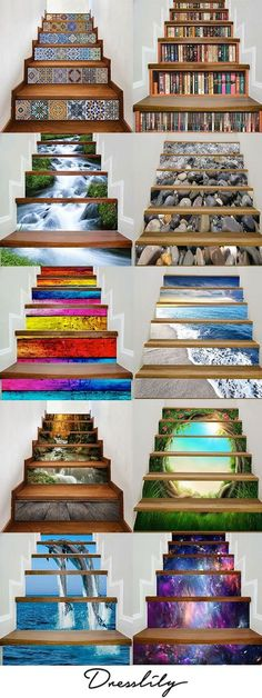 Buy the latest best discount stair stickers at cheap prices, and check out our daily updated new arrival best stair riser stickers & stair art stickers for sale at Dresslily.com.FREE SHIPPING WORLDWIDE!#homedecor#stairstickers