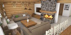 Návrh interiéru drevenice Zborov - Fotoinšpirácia