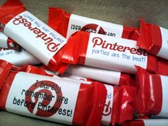 Pinterest Party Favors  The Corry Story