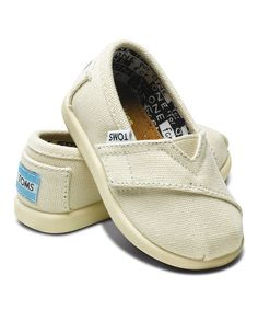 9a2b663abfa Look at this TOMS 2012 Edition Natural Canvas Classics - Tiny on  zulily  today!