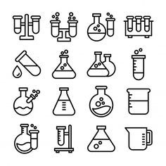 Hipster Vintage, Science Equipment, Medical Icon, Fashion Vocabulary, Biochemistry, Vector Freepik, Mousepad, Cartoon Styles, Logo Templates
