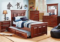 Shop for a Jonathan  5 Pc Full Panel Bedroom at Rooms To Go Kids. Find  that will look great in your home and complement the rest of your furniture. #iSofa #roomstogo