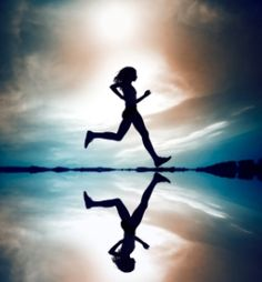 Running at the speed of joy,  you find that this could very well be the pace that we were born to move at.