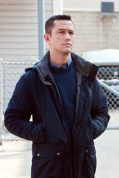 "Joseph Gordon-Levitt portrays the character of John Blake in the movie ""The Dark Knight Rises""......"