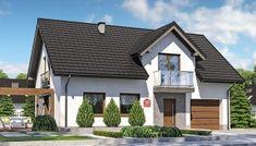 Proiect deosebit de casa cu mansarda cu 4 dormitoare cu arhitectura moderna – Idei case Home Fashion, Minimalism, Shed, Outdoor Structures, Cabin, Mansions, House Styles, Interior, Houses