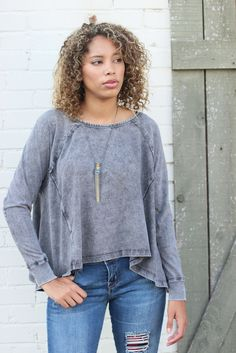 Sunrise Tee by Free People // Antique Garden // Perfect for Fall! #fallessential #FPme #freepeople