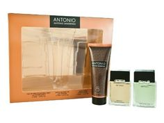 Antonio Coffret: Eau De Toilette Spray 30ml/1oz + After Shave 30ml/1oz + Shower Gel 75ml/2.5oz - 3pcs by Antonio Banderas. $9.00. ANTONIO by Antonio Banderas SET-EDT SPRAY 1 OZ & AFTERSHAVE 1 OZ & SHOWER GEL 2.5 OZ For Men. Antonio Coffret: 1x Eau De Toilette Spray 30ml/1oz 1x After Shave 30ml/1oz 1x Shower Gel 75ml/2.5ozIdeal both for personal use & as a giftProduct Line: AntonioProduct Size: 3pcs
