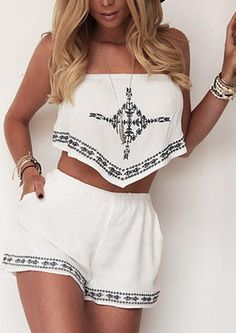 Sail-Out Two-Piece Romper