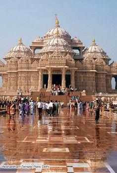 Akshardham Temple Delhi- Swaminarayan Akshardham Temple Delhi, Akshardham Temple New Delhi India Goa India, India Tour, Delhi India, Delhi Ncr, North India, Temple India, Hindu Temple, Indian Temple, Monuments