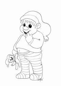 Sjov for børn: Tegninger - JUL - Printland
