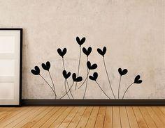 #Vinilo #adhesivo de líneas simples y sencillas para decorar estancias tanto clásicas como modernas. Sus finos trazos consiguen un justo prota...