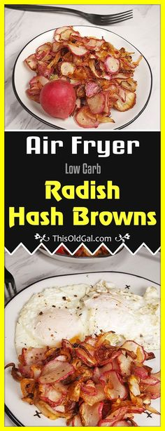 Low Carb Air Fryer Radish Hash Browns are Keto Friendly and seriously delicious…. Low Carb Air Fryer Radish Hash Browns are Keto Friendly and seriously delicious. Replace Hash Brown Potatoes with these healthy gems. Air Fryer Recipes Keto, Low Carb Recipes, Healthy Recipes, Healthy Meals, Healthy Dishes, Keto Foods, Ketogenic Foods, Hash Browns, Beef Tartare