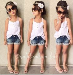 New fashion 2015 girl set summer style lace Suspenders T shirt + pant blue party rustic designer boutique roupa infanti menina
