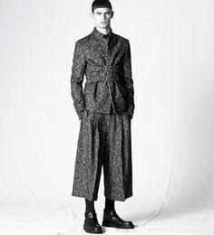 Kris Van Assche suit.