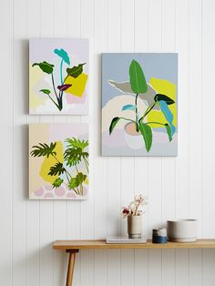 Leah Bartholomew - The Design Files Greenhouse Interiors, The Design Files, Arte Pop, Art And Illustration, Illustrations, Art Plastique, Botanical Art, Flat Design, Design Design