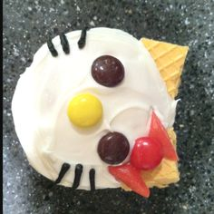 Hello Kitty cupcakes that my dear friend made for my daughter's 3rd birthday! :-) Love them!