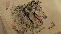 Collie Lovers Handkerchief