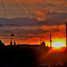 "@dimval's photo: ""#tram #wires in #Praha 