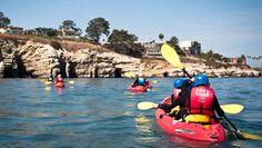 Kayak Tours of the Seven Caves @ La Jolla Shore (La Jolla, CA)