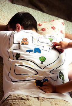 Como fazer camisa criativa para o Dia dos Pais