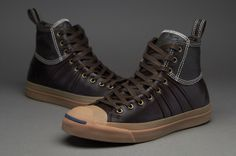 Converse Jack Purcell Duck Boot - Mens Select Footwear - Brown