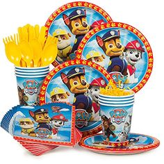Paw Patrol Party Supply Standard Kit (Serves 8) BirthdayExpress http://www.amazon.com/dp/B00V2V3K1W/ref=cm_sw_r_pi_dp_H96Yvb01F9556