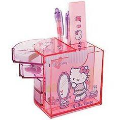 Ofice depot at huge discount Hello Kitty Kitchen, Hello Kitty House, Hello Kitty Clothes, Hello Kitty Makeup, Hello Kitty Themes, Hello Kitty Crafts, Hello Kitty Merchandise, Room Deco, Cute School Supplies