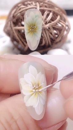 Pedicure Nail Art, Toe Nail Art, Acrylic Nails, Gel Nails, Nail Art Hacks, Nail Art Diy, Easy Nail Art, Nail Art Designs Videos, Nail Art Videos