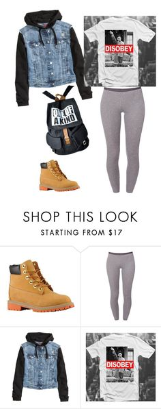"""Dope outfit"" by queen-sharp ❤ liked on Polyvore featuring Timberland, Schiesser and H&M"