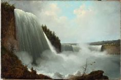 Unknown, Niagara Falls, not dated, Oil on canvas, 23 ¼ x 31 ¼ inches, Bequest of Richard M. Scaife, 2015.94