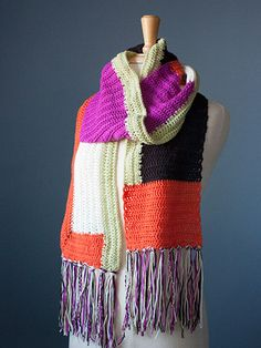 Anthologie Crochet Scarf Pattern
