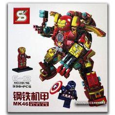 LEGO SY MK46 Iron Man Mecha Collection Blocks Edition MK 46