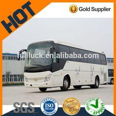 Low price diesel coaster bus Seenwon 55-60 seater bus