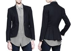 NOVEMBER: the perfect Rag & Bone blazer.