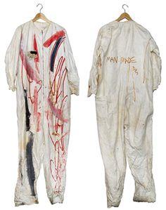 Jean-Michel Basquiat (1960-1988) Untitled (Jumpsuit)