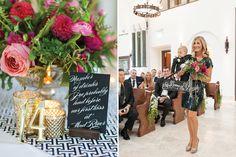 Formal wedding by True Event, photos by Leila Brewster  - custom product from www.tiethatbindsweddings.com