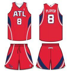 Atlanta Hawks Alternate Uniform 2011-2014