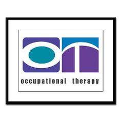 "Purple, Teal, Blue OT Large #Framed #Print > ""Wide# OT"" Occupational Therapy > #NOVO 4 OT"