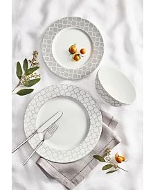 Martha Stewart Collection English Garden Collection, Created for Macy's & Reviews - Dinnerware - Dining - Macy's Ginger Jar Lamp, Ginger Jars, Quatrefoil Pattern, Martha Stewart, Other Accessories, Tea Set, Contemporary Style, Dinnerware, Decorative Plates