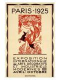 Paris Art Exposition, c.1925 Gicléedruk van Robert Bonfils