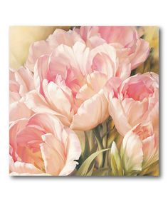 Look at this #zulilyfind! Blooming Beauty II Canvas Wall Art #zulilyfinds