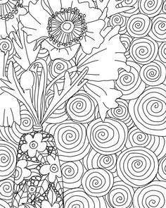 21 days of sheer colour therapy delight and it's all free! Free Coloring, Adult Coloring, Coloring Pages, Fun Art, Cool Art, Colour Therapy, Baboon, Crafty Kids, Art Challenge