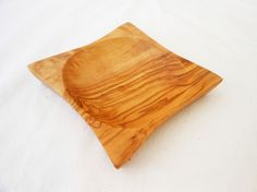 Wooden Snack Tray - Wooden Serving Candy Walnut Bowl Dish by Zitouna Wood on Gourmly