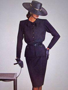 1987- Saint Laurent rive gauche adv - Linda Evangelista