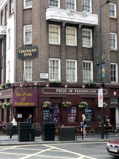 """The Pride of Paddington"", London. Photo by Graham Hogg. London Pubs, London Places, Old London, British Pub, Rule Britannia, Uk History, Pub Signs, English Heritage, Shop Fronts"