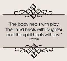 i am healing my body mind and spirit...